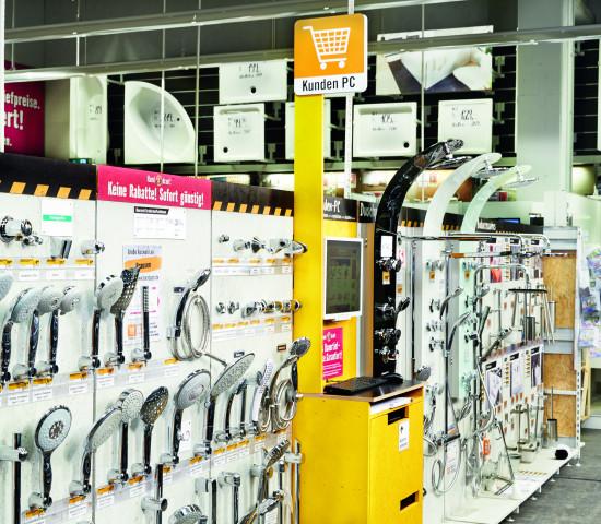 Produktpräsentation im Compactmarkt