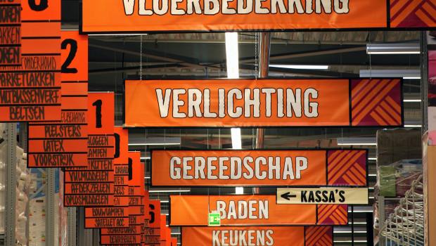 Der Anteil der ausländischen Hornbach-Märkte am Gesamtumsatz ist auf 42,2 Prozent gestiegen.