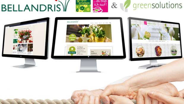 Die Kooperation mit Green Solutions soll die grünen Sagaflor-Mitglieder in Sachen Online einen großen Schritt voranbringen.