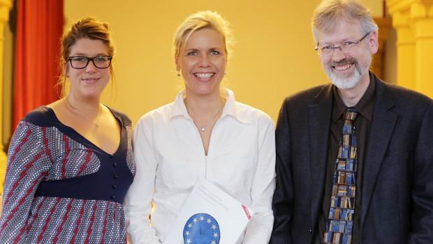 Jana Stange (BHB), Juliane Lemcke (IPD) und  Thorsten Hinrichs (Bundesministerium für Ernährung und Landwirtschaft)
