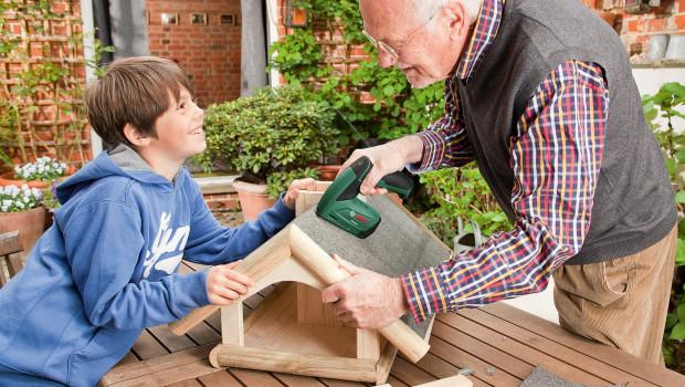 Das Selbermachen ist in den jüngeren Generationen nicht mehr so beliebt wie bei den älteren Jahrgängen. Bild: Bosch