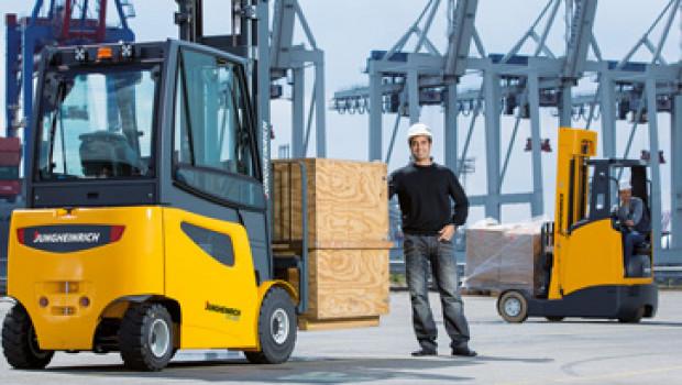 Jungheinrich hat im 2. Quartal 2014 seinen Umsatz um neun Prozent steigern können.