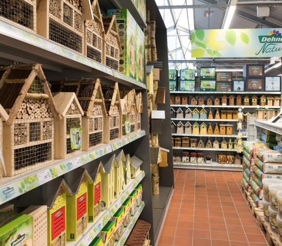 Der zweite Düsseldorfer Dehner-Markt eröffnete in einem umgebauten Klee-Gartencenter.