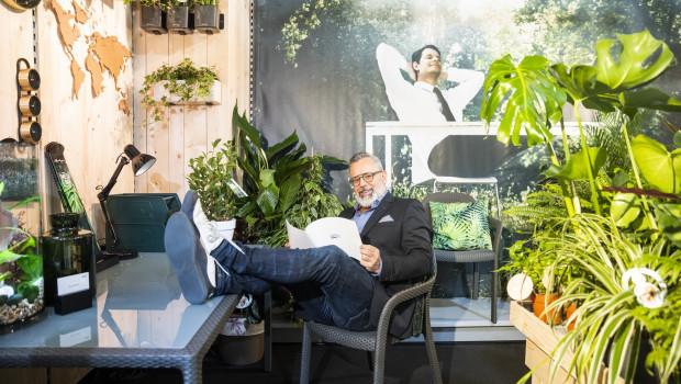 Der Grünstylist Romeo Sommers verantwortet auch 2020 das IPM Discovery Center.