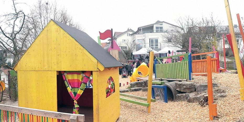 Toom, Spiellandschaft Kindergarten Stockrain