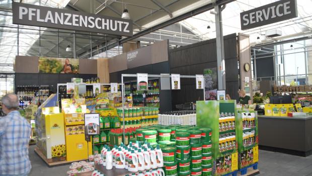 Der Handel bietet eine breite Palette an Pflanzenschutzprodukten für den Haus- und Kleingarten an.