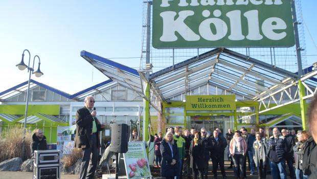 """""""Hören wir auf zu jammern"""", rief Klaus Kölle den Teilnehmern der VDG-Storetour zu. """"Es geht uns gut."""""""