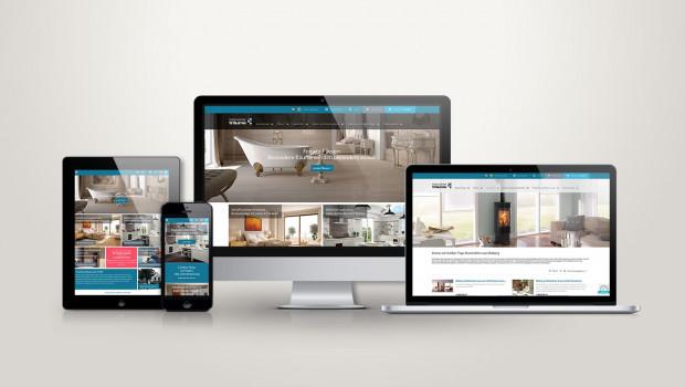Der Shop heimwerkertraeume.de passt sich in der Darstellung auf alle Endgeräte vom Smartphone über das Tablet bis zum Desktop an.