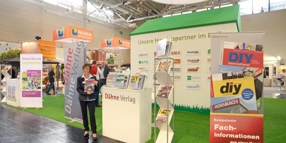 Messestand Dähne Verlag