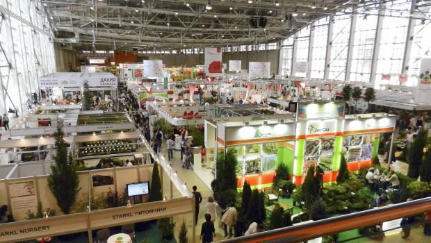 Die Aussteller der Flowers IPM Moskau haben in diesem Jahr größere Standflächen gebucht.