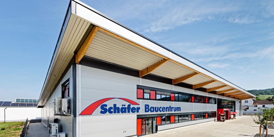 Bauvista-Standort, Schäfer Baucentrum, Alheim