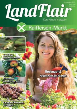 Preiswürdiger Titel: Das Raiffeisen-Kundenmagazin Landflair hat den Fox Award in Silber bekommen.