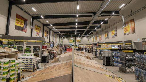 Zur Byggmax-Gruppe gehören 180 Märkte in Schweden, Norwegen und Finnland.
