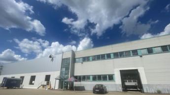 Neue Lagerhalle von Landmann entsteht in Gallin