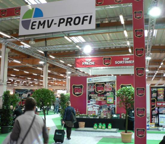 Messestand EMV-Profi Handelsforum
