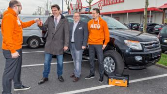 Akku-Schlagbohrer gekauft, Auto gewonnen