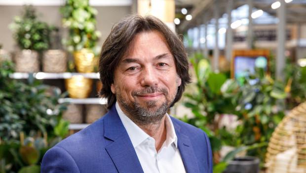 Bellaflora-Geschäftsführer Franz Koll will das Profil der Gartencenterkette als nachhaltiger Anbieter weiter schärfen.