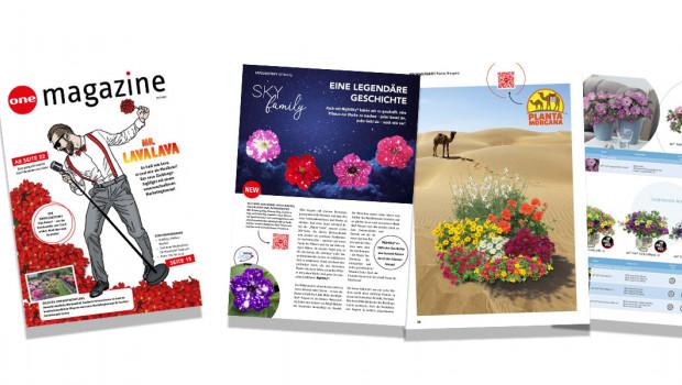 Das neue Magazin bietet den Lesern eine Mischung aus aktuellen Marketingthemen, Züchtungsneuigkeiten und Service.