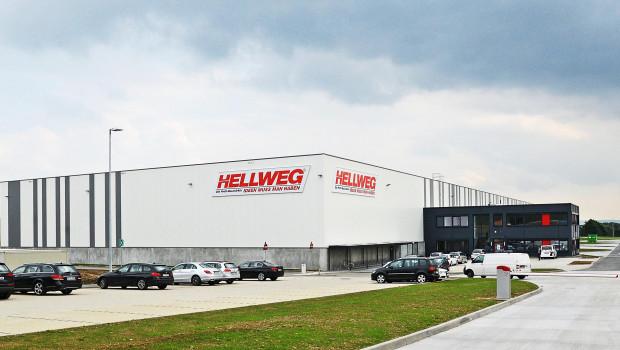 Hellweg Profi-Baumärkte, Baywa Bau- und Gartenmärkte, Gartencenter Augsburg ...: Die über 150 Märkte der Hellweg-Gruppe versorgt das Unternehmen künftig vom neuen Verteilzentrum in Hamm-Rhanern aus.