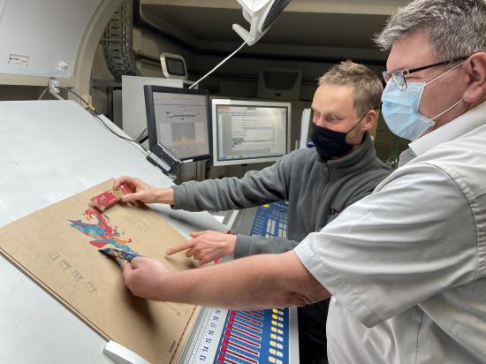 STI testet sowohl die technischen Eigenschaften der Fasern als auch Druck- und Veredelungsmöglichkeiten.