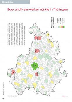 Bau- und Heimwerkermärkte in Thüringen.