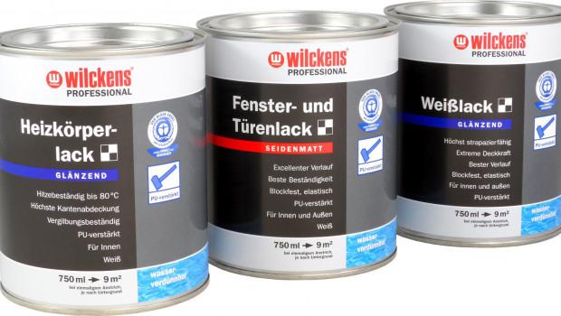 Wilckens  Farben, wasserverdünnbaren Lacksortiment