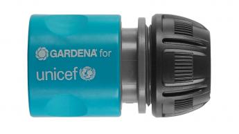 Für UNICEF-Spendenaktion wechselt Gardena von Orange zu Blau