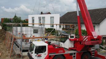 Zahl der Baugenehmigungen für neue Wohngebäude sinkt wieder