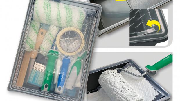 Malerwerkzeuge, Nespoli, Farbwanne, All-in-BOX