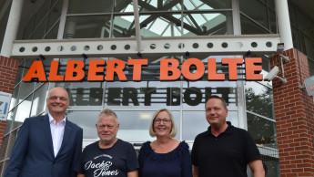 Übernahme des Baustoffhandels und Baumarkts von Albert Bolte