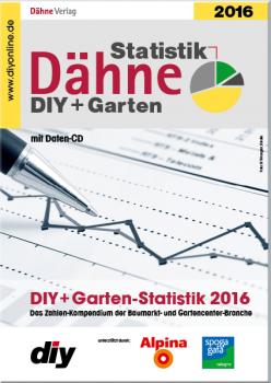 Die Dähne Statistik DIY + Garten 2016 erscheint im Mai.