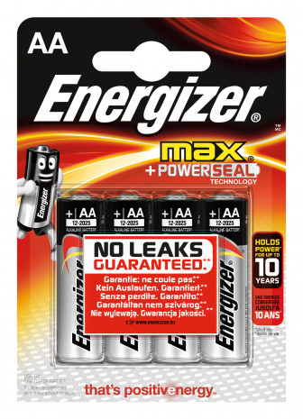 Energizer, Alkali-Batterie Max