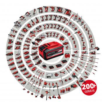 Mit Power X‐Change bietet Einhell ein Akkusystem für Heimwerker und Hobbygärtner, das mehr als 200 Geräte umfasst.