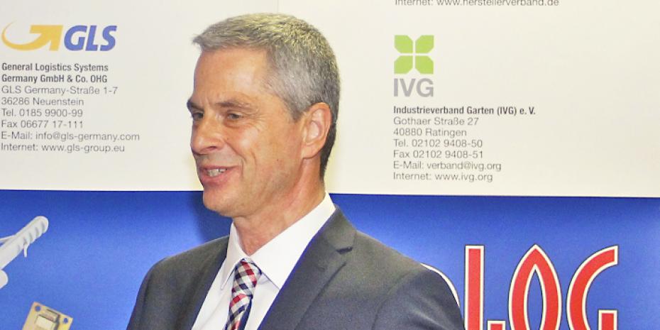 Markus Schering, Geschäftsführer von Synlog