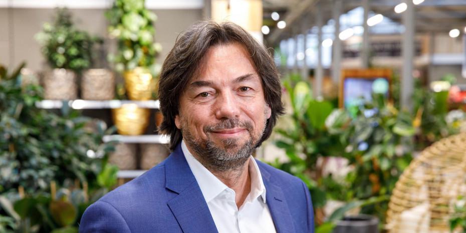"""""""Hat die Entscheidung für mehr Nachhaltigkeit Umsatz gekostet? Ja. War es richtig? Ja"""": Bellaflora-Geschäftsführer Franz Koll will das Profil der Gartencenterkette weiter schärfen."""
