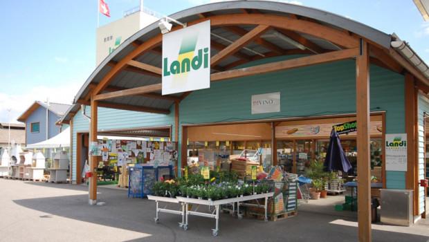 Die Schweizer Landi-Läden konnten ihren Umsatz 2018 um rund 3 Prozent erhöhen. [Bild: Landi]