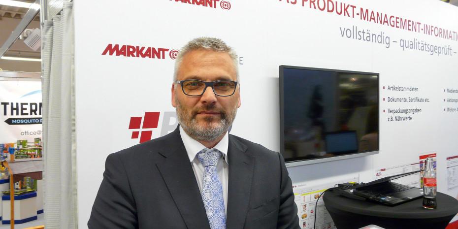 Martin Klebsch, Geschäftsbereichsleiter Nonfood Markant.