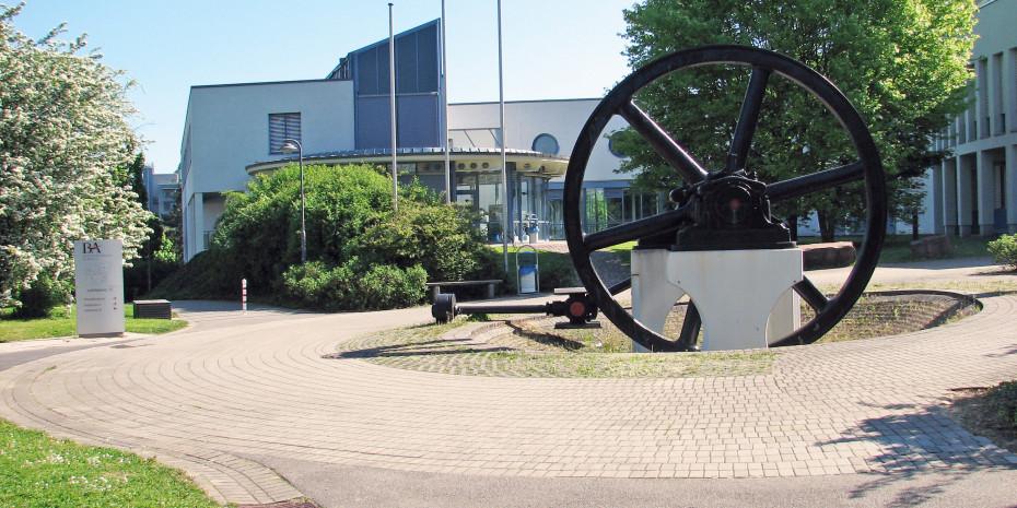 DHBW Mosbach, Haupteingang