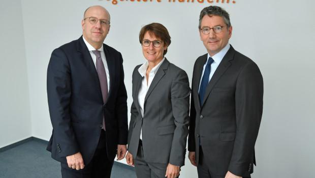 Die EK-Vorstände Franz-Josef Hasebrink (r.), Martin Richrath und Susanne Sorg haben sich direkt an die Lieferanten ihrer Mitglieder gewandt.