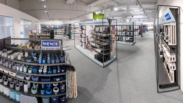 417 Innovationen bringt der Hersteller 2021 auf den Markt. Zu sehen sind die Neuheitenim kernsanierten und neu konzipierten Showroom in Hilden.