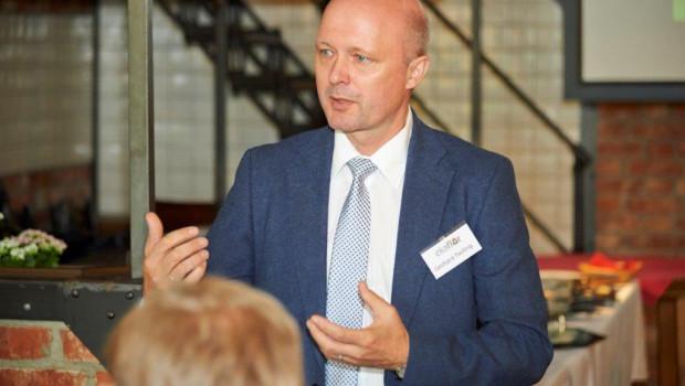 Auf der Jahreshauptversammlung berichtete Geschäftsführer Gerhard Twiling über das abgelaufene Geschäftsjahr. Foto: Ekaflor/Fotostudio Braune