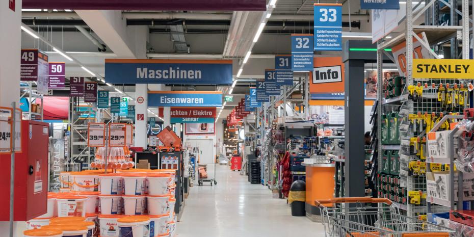 Obi/Sochor, Wien-Penzing, Mittelgangkonzept