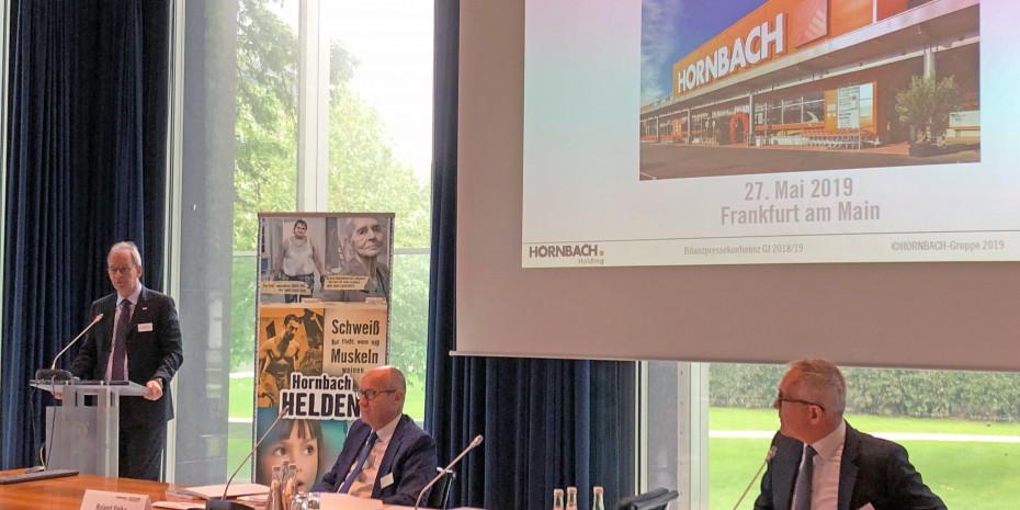Hornbach Top-Management, Bilanzpressekonferenz