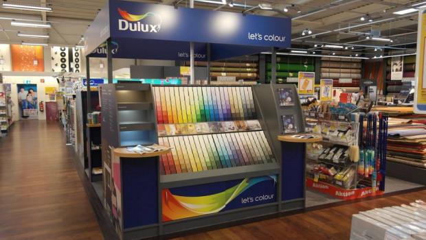 Erfolgreicher Relaunch der Akzo-Nobel-Marke Dulux.