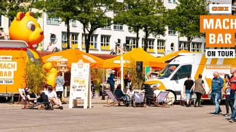 Obi MachBar on Tour mit fünftem Stopp in Leipzig