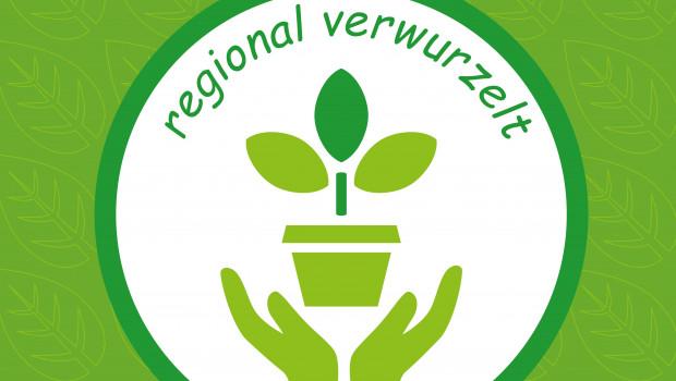 Mit verschiedenen Logos werden Themen wie die regionale Verwurzelung der Märkte hervorgehoben.