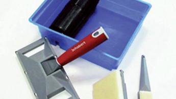Streichkissen-Set mit Softtouch-Griff