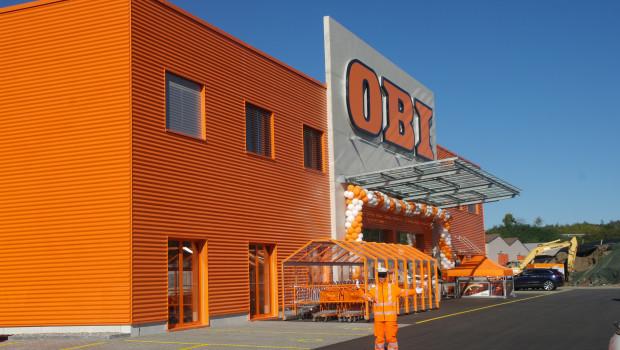 Heute eröffnet in Schaffhausen der jüngste Obi-Markt in der Schweiz.