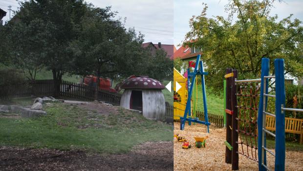 Der neue TV-Spot von Toom-Baumarkt zeigt dreht sich um die Kita Stockrain in Auenwald. Dort haben Eltern, Erzieher und Helfer den Spielplatz renoviert.