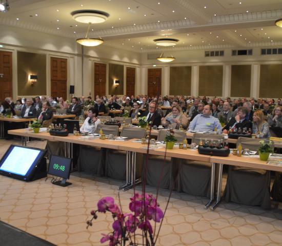 Mit rund 280 Teilnehmern verzeichnete die VDG-Wintertagung 2016 in Aachen eine Rekordbeteiligung.